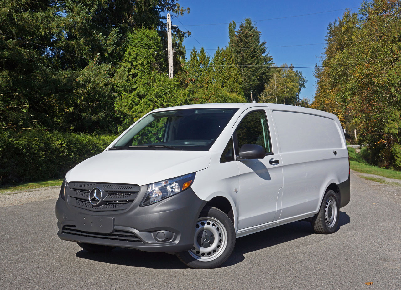 2017 mercedes benz metris cargo van road test review