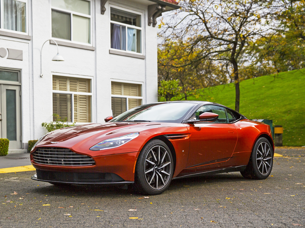 2017 aston martin db11 launch edition road test review | carcostcanada