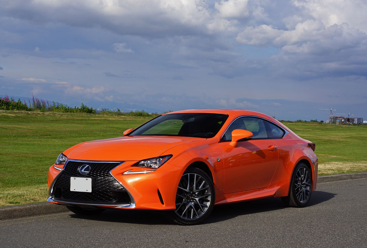 2016 lexus rc 300 awd f sport road test review carcostcanada. Black Bedroom Furniture Sets. Home Design Ideas