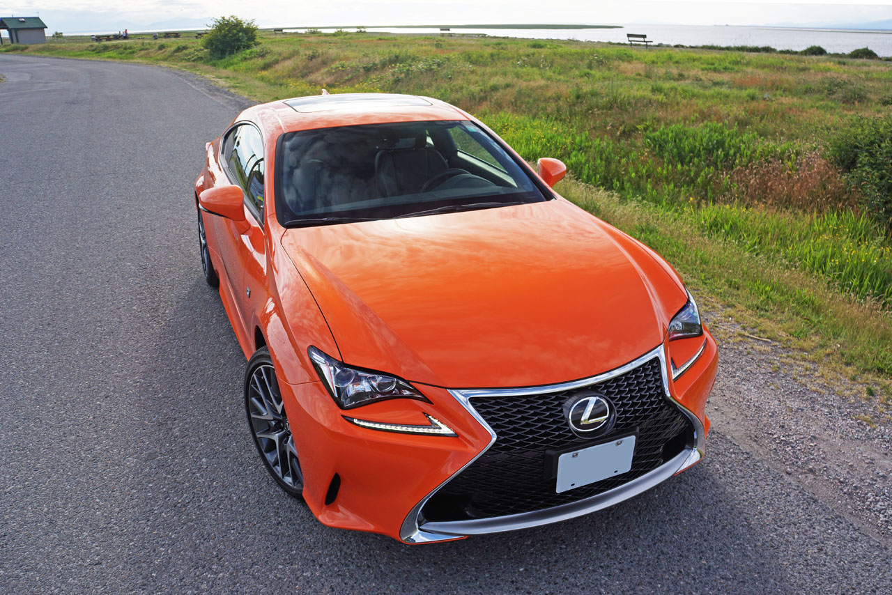 2016 Lexus Rc 300 Awd F Sport Road Test Review Carcostcanada Automatic Rain Sensing Wiper Cum Headlight Controller Final Year At First Glance Youd Be Forgiven For Thinking The Is An Of Course Two Models Are Based On