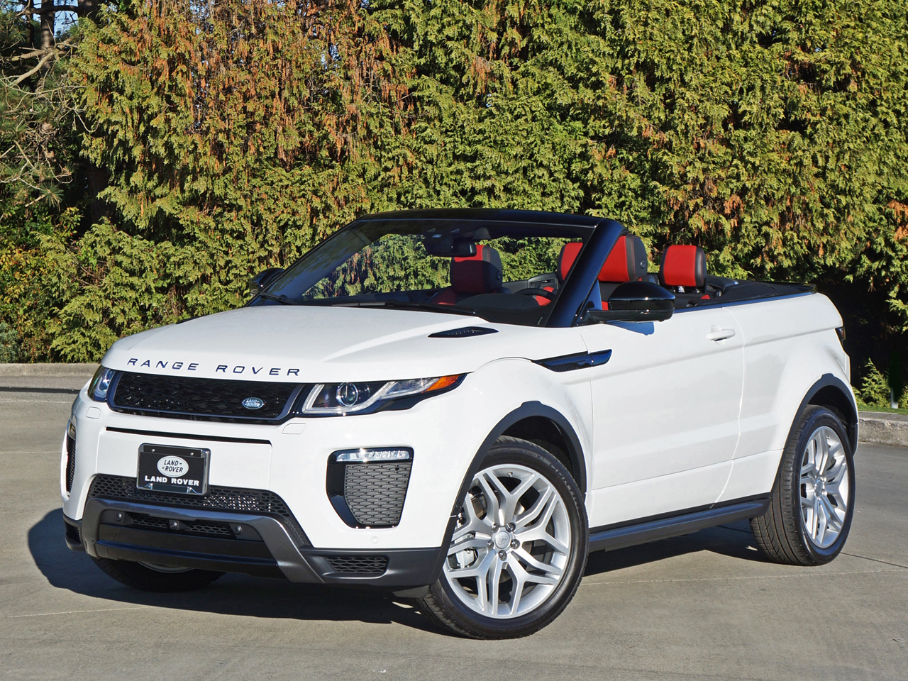 2017 Range Rover Evoque Convertible Road Test Review