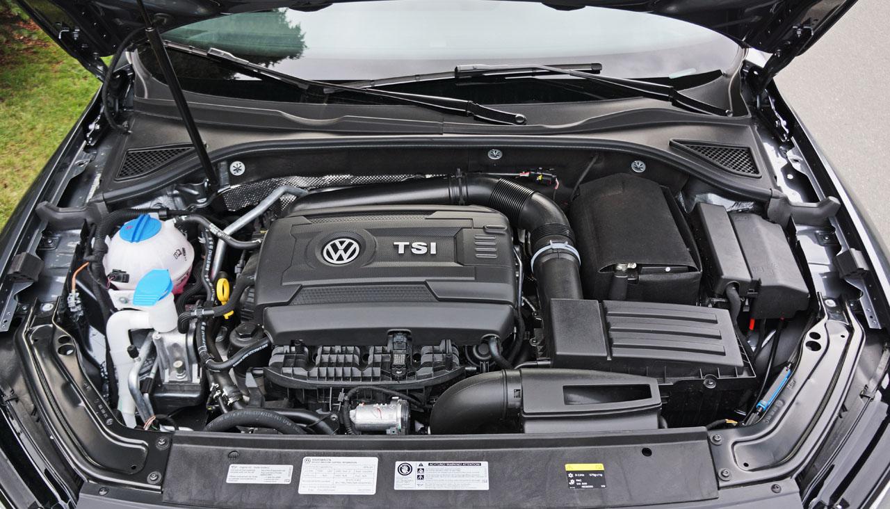 2017 Volkswagen Passat 18 Tsi Highline Road Test Review Carcostcanada 2013 Engine Diagram