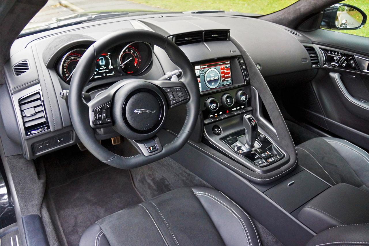 2017 Jaguar F Type R Coupe Road Test Review Carcostcanada