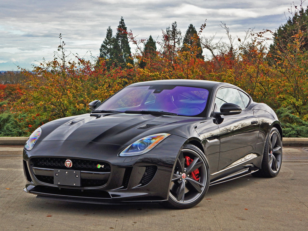 Jaguar F Type Coupe >> 2017 Jaguar F Type R Coupe Road Test Review Carcostcanada