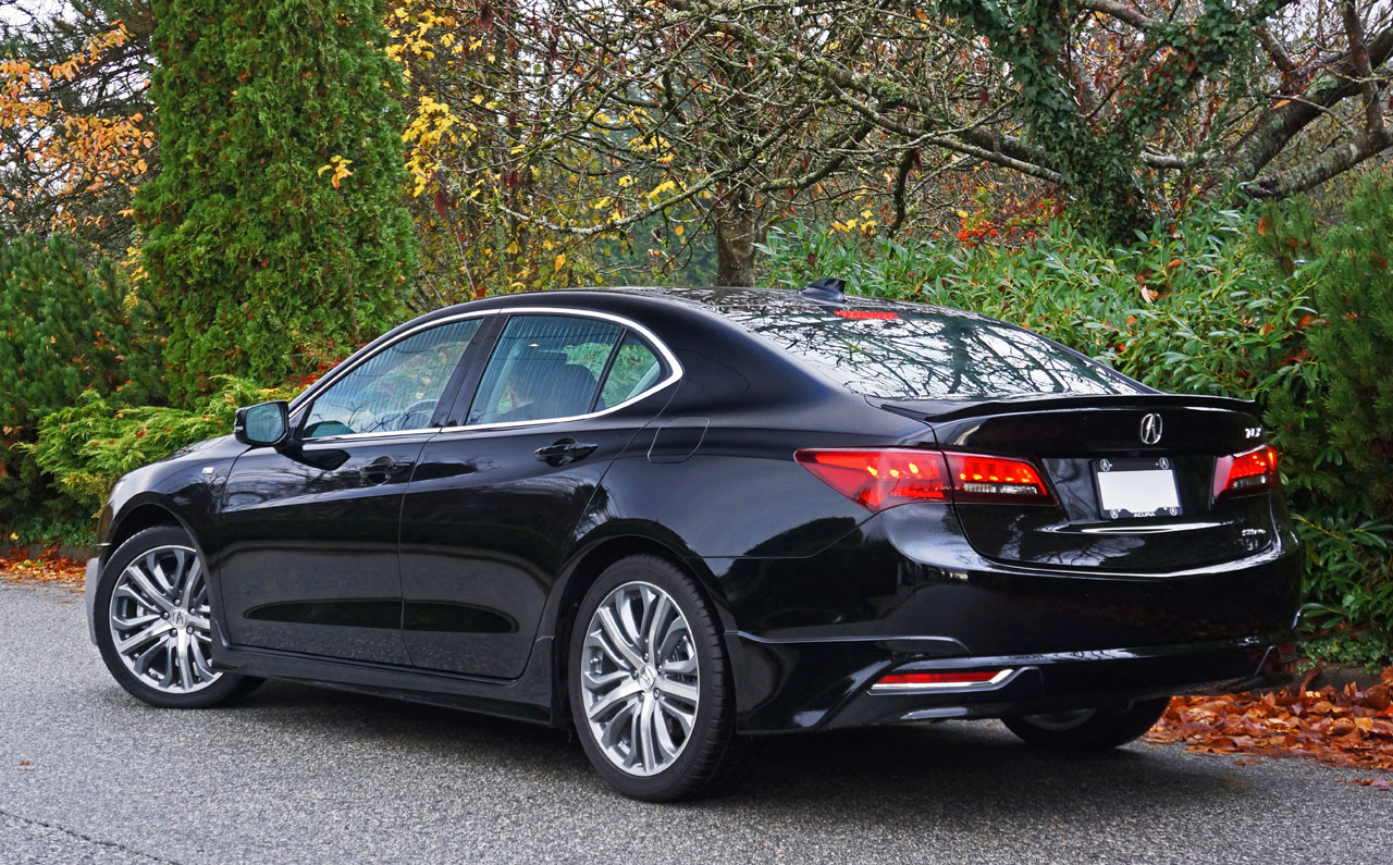 2017 Acura Tlx Sh Awd Tech A Spec Road Test Review Carcostcanada