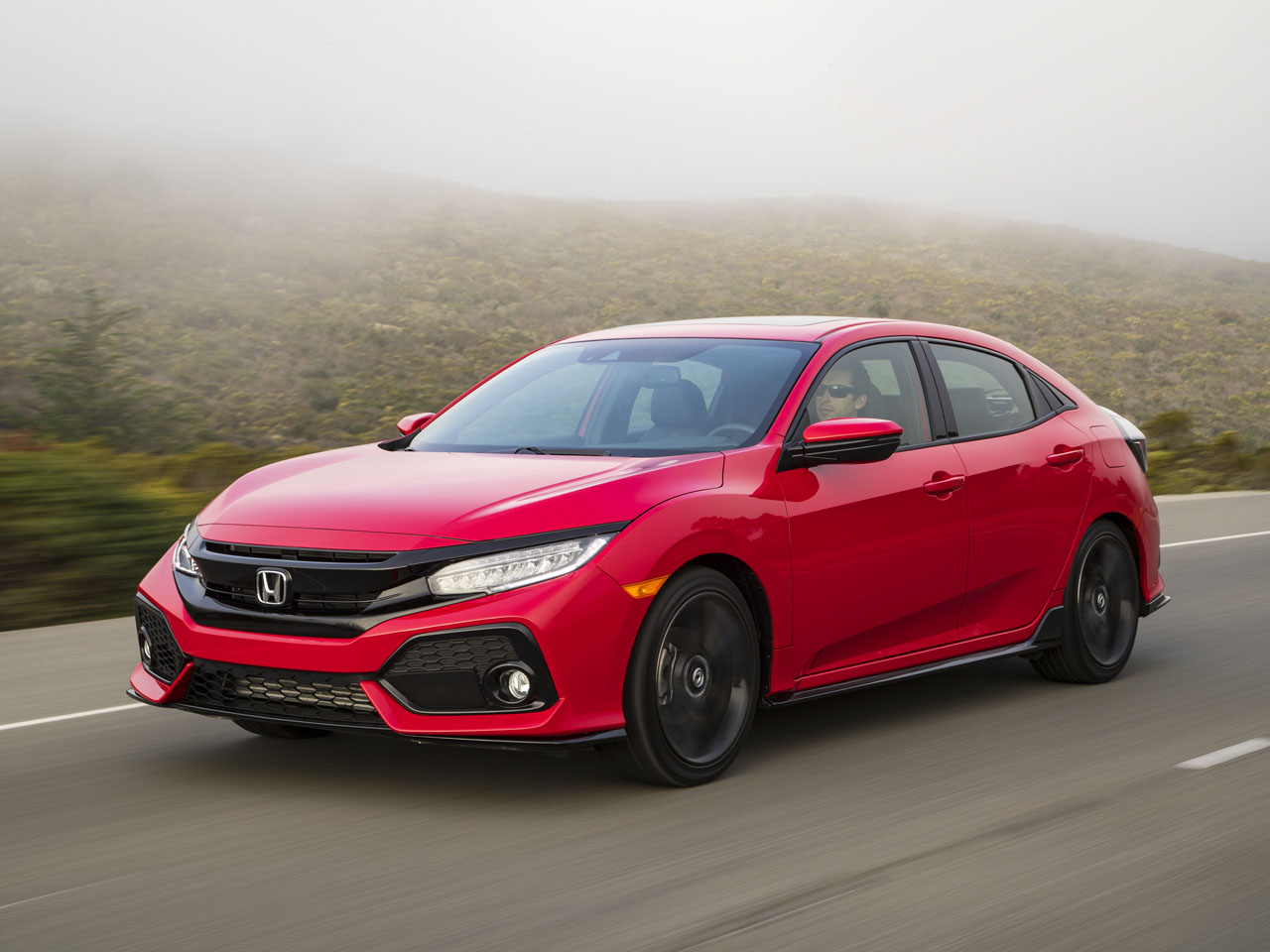 2017 Honda Civic Hatchback Road Test Review