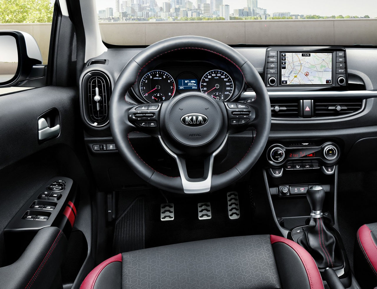 2018 kia picanto interior. plain 2018 kia releases photos of new picanto city car in 2018 kia picanto interior