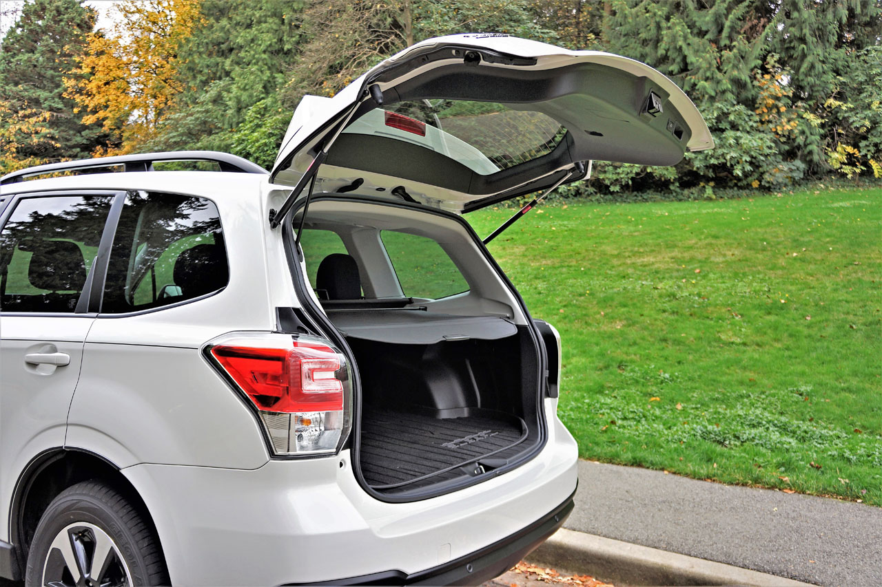 2017 Subaru Forester 25i Touring Road Test Review Carcostcanada 2000 Airbag Wiring Diagram The Auto Journalist Association Of Canadas Best New Small Utility Owners Know Such Accolades Are Deserved As