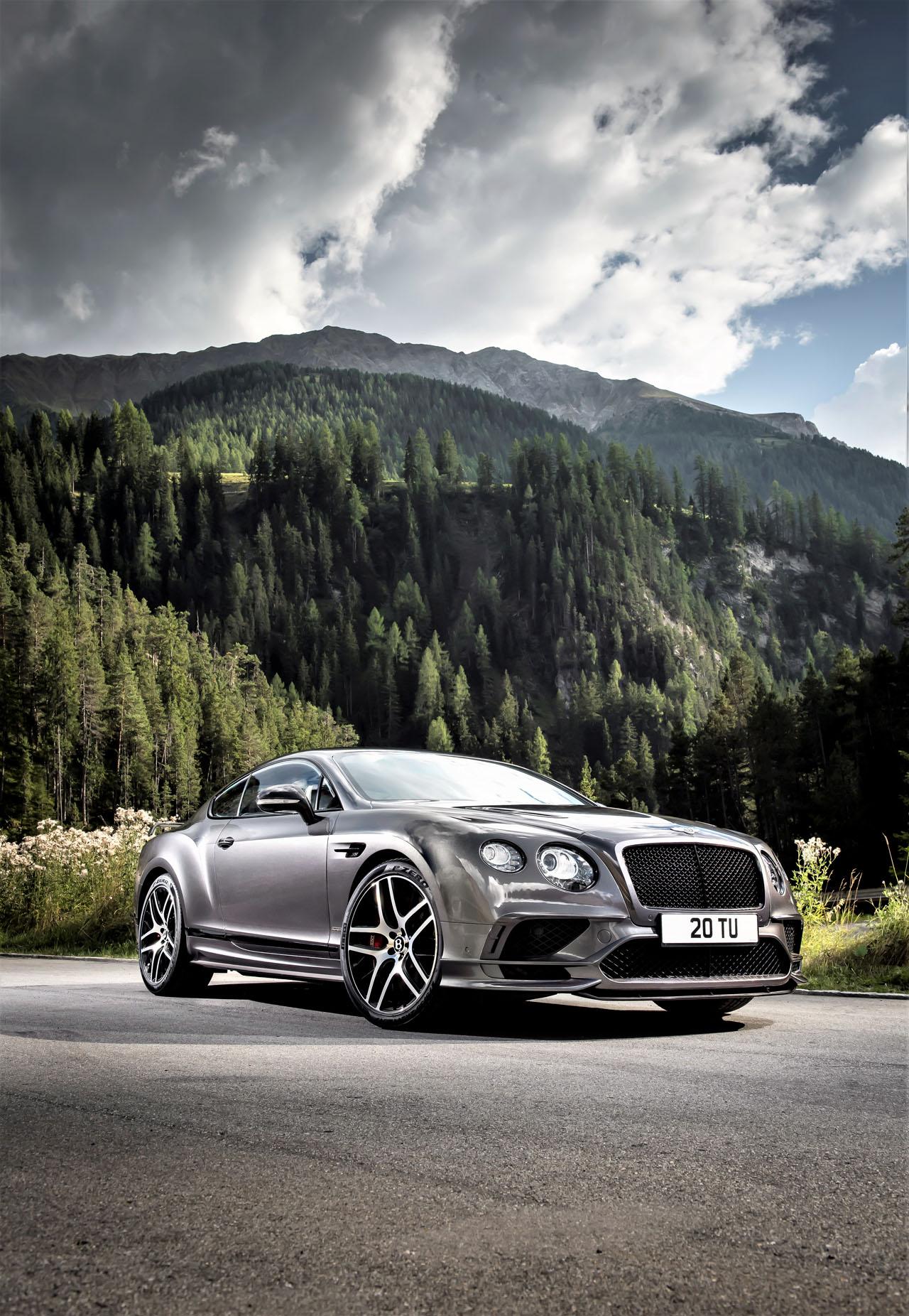 New Bentley Continental Supersports Achieves Worldu0027s Fastest Four Seater  Status | CarCostCanada