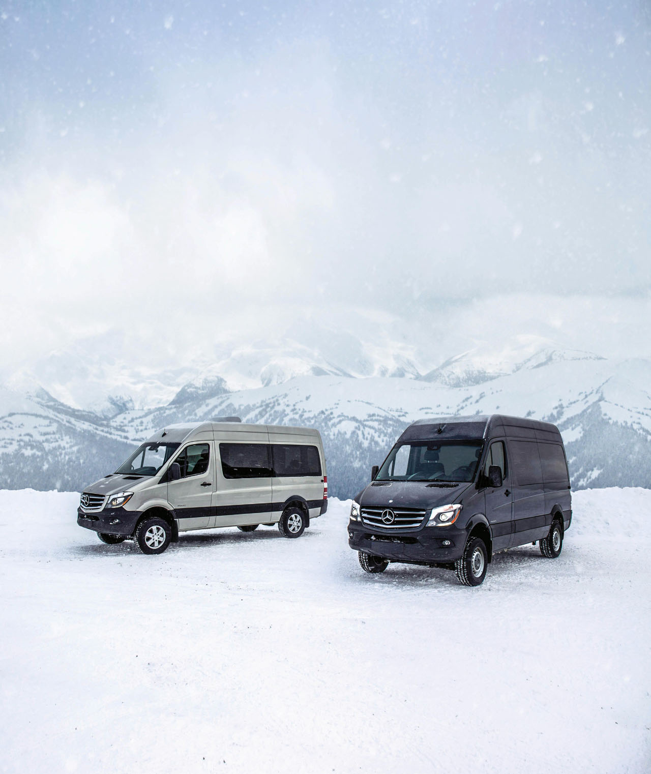 Mercedes benz sprinter is the only commercial van to offer for Mercedes benz sprinter canada