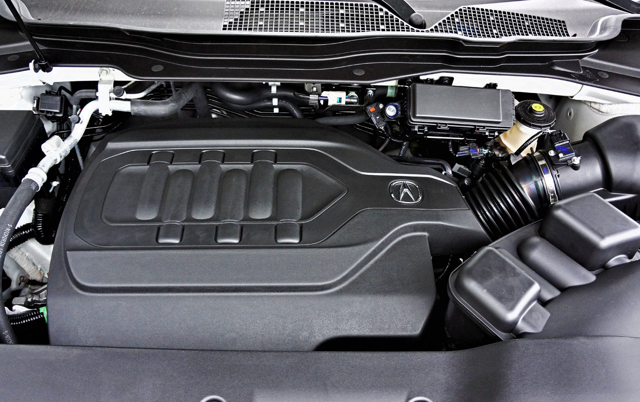 2017 Acura Mdx Elite 6 Passenger Road Test Review Carcostcanada Cylinder Engine