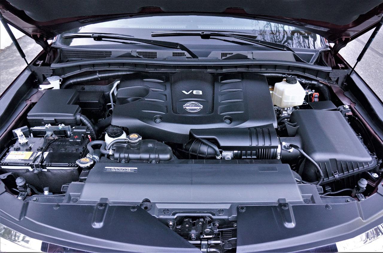 2017 Nissan Armada Platinum Road Test Review | CarCostCanada™
