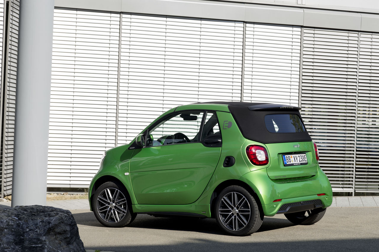 Redesigned 2017 Smart Electric Drive Adds Range And