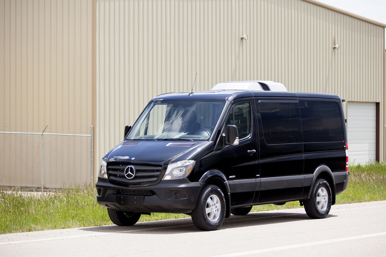 vehicle sprinter inventory van day passenger pre owned coach rwd benz mercedes wb specialty for executive sale used