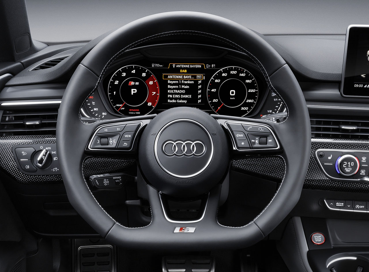 New Audi S5 Sportback Leads Its Four Door Coupe Competitors In