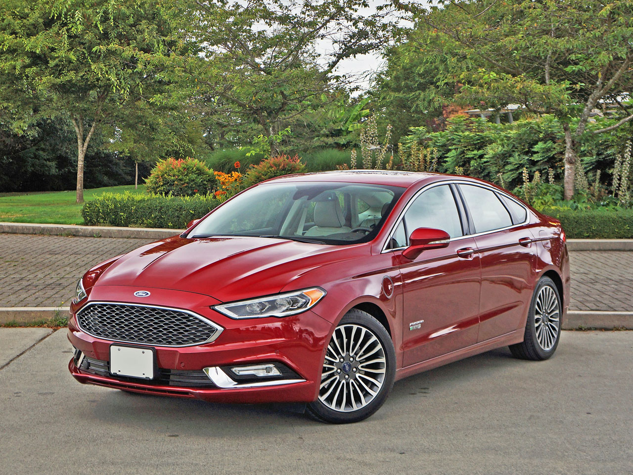 2017 Ford Fusion Energi Platinum Road Test
