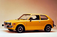 1973 Honda Civic Hatchback
