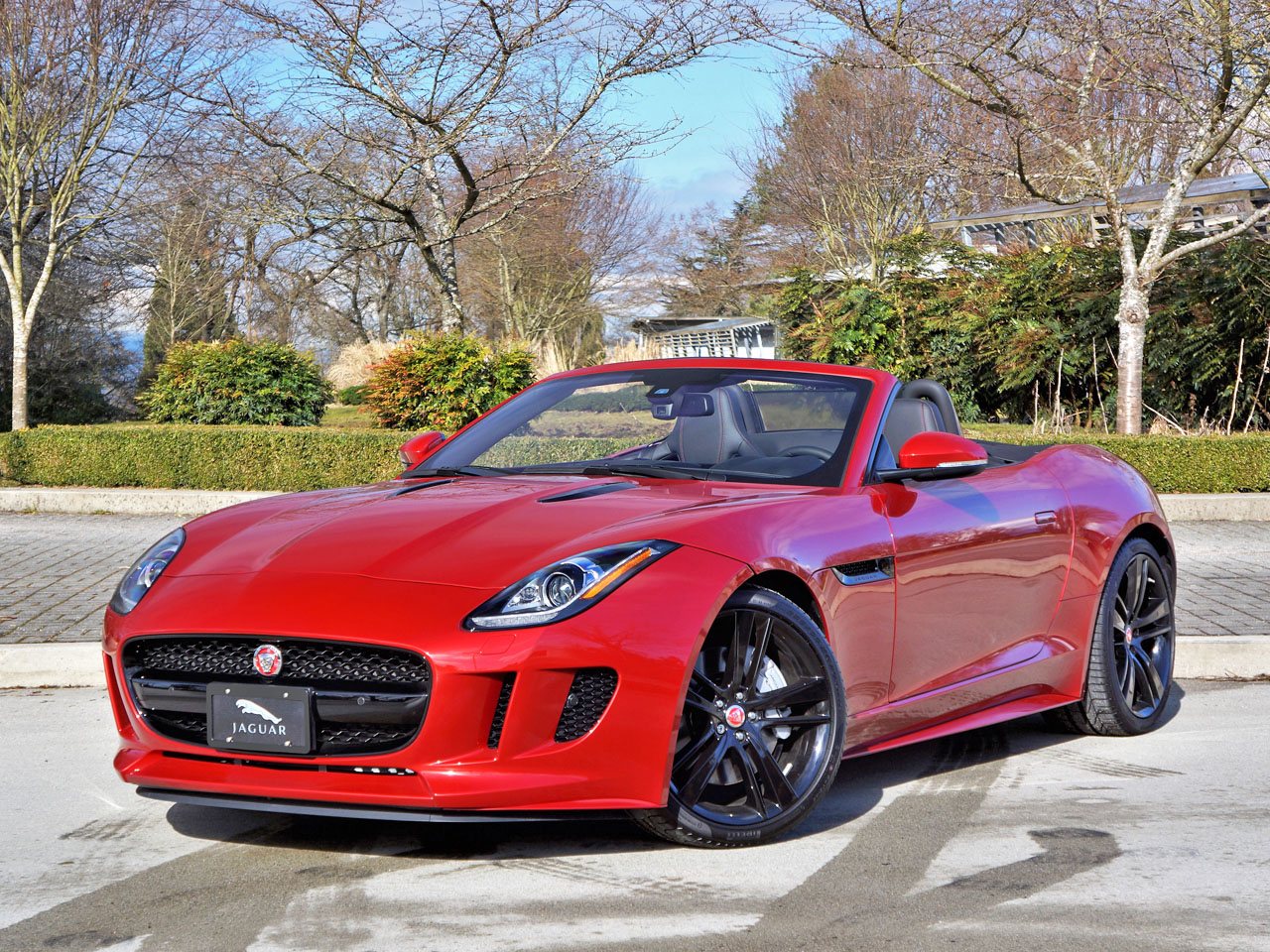 2017 Jaguar F Type Convertible Road Test