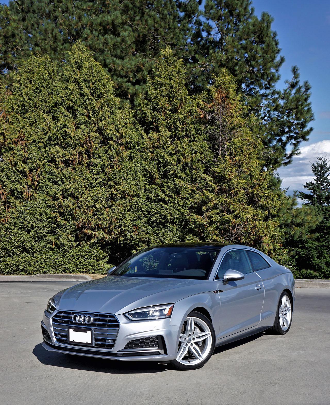2018 Audi A5 Coupe 2.0 TFSI Quattro Progressiv S Line Road