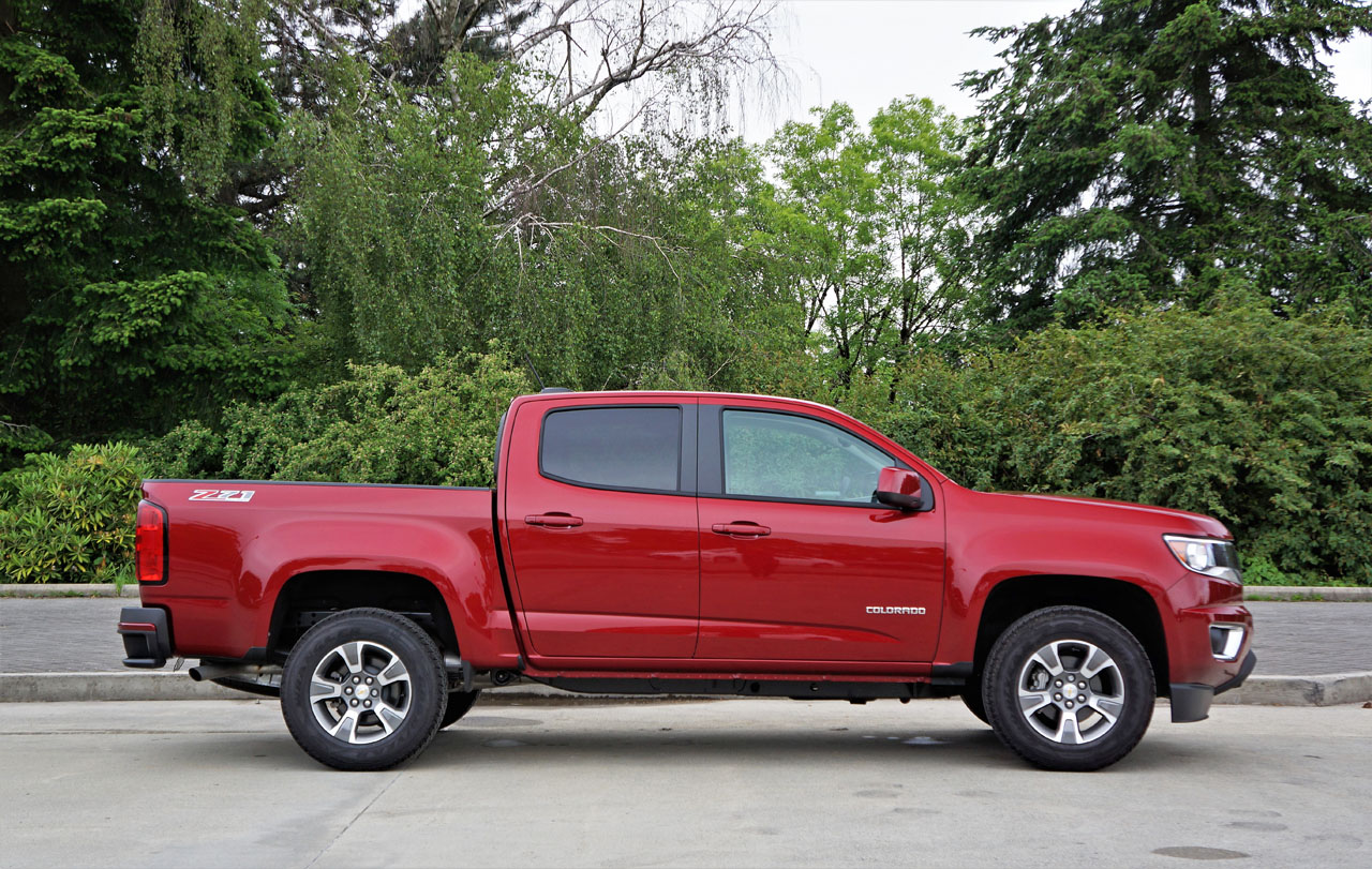 2017 chevrolet colorado z71 crew cab 4wd road test carcostcanada. Black Bedroom Furniture Sets. Home Design Ideas