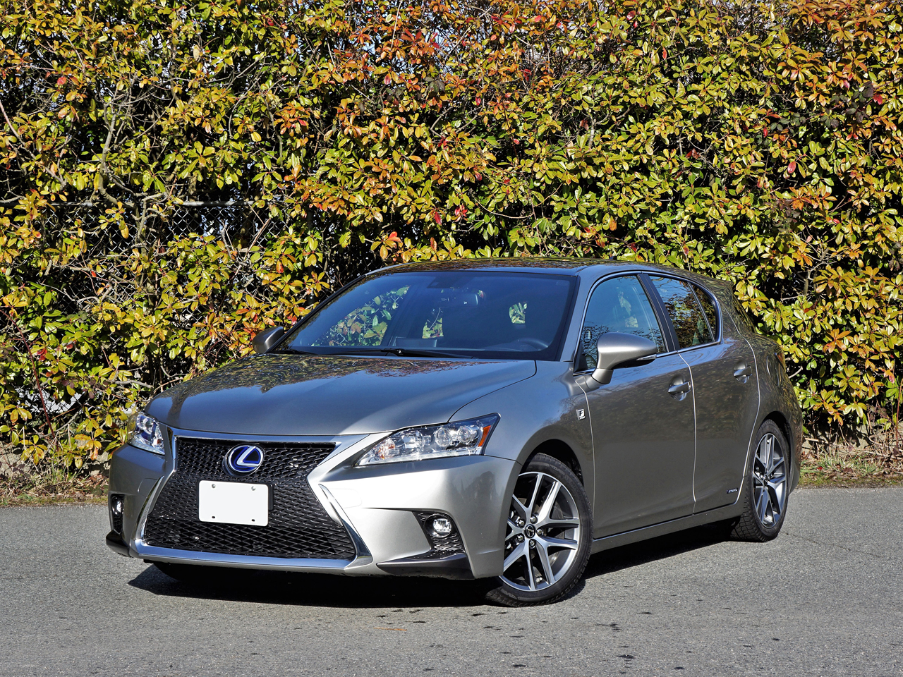 2017 Lexus Ct 200h F Sport Road Test