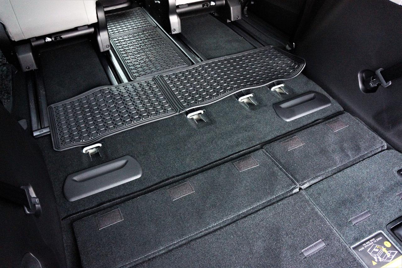 Toyota Sienna Floor Plan