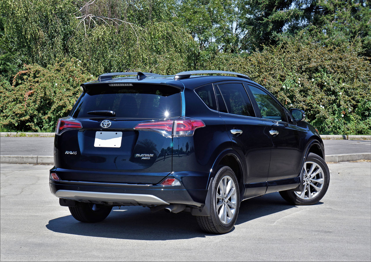 toyota rav limited platinum awd road test carcostcanada