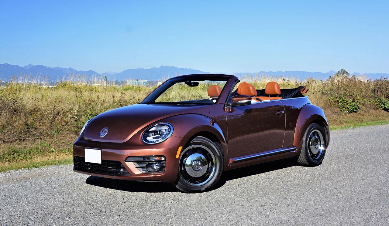 2017 volkswagen beetle convertible classic road test. Black Bedroom Furniture Sets. Home Design Ideas