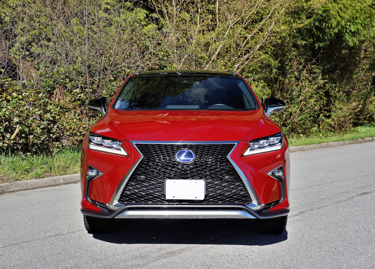 2017 lexus rx 450h f sport road test carcostcanada. Black Bedroom Furniture Sets. Home Design Ideas